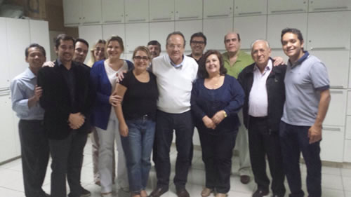 Diretoria da APCD-JP recebe as representantes do Crosp.