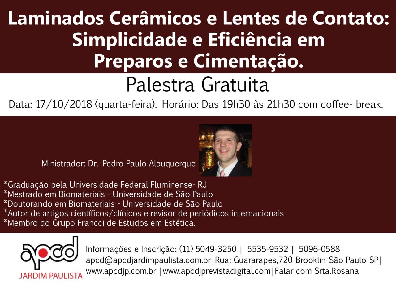 Palestra Dr. Pedro Paulo